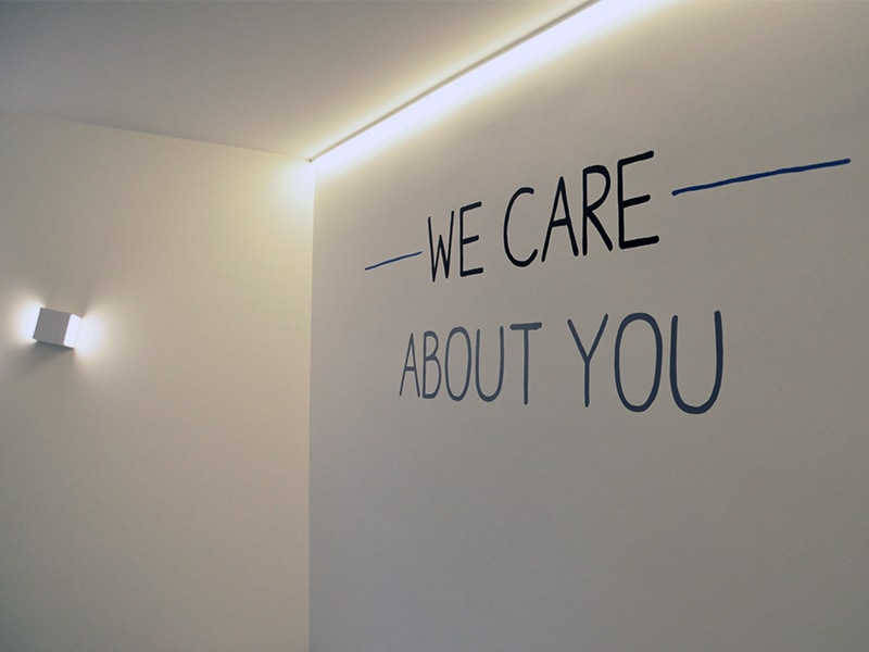 WE Care groepspraktijk logo