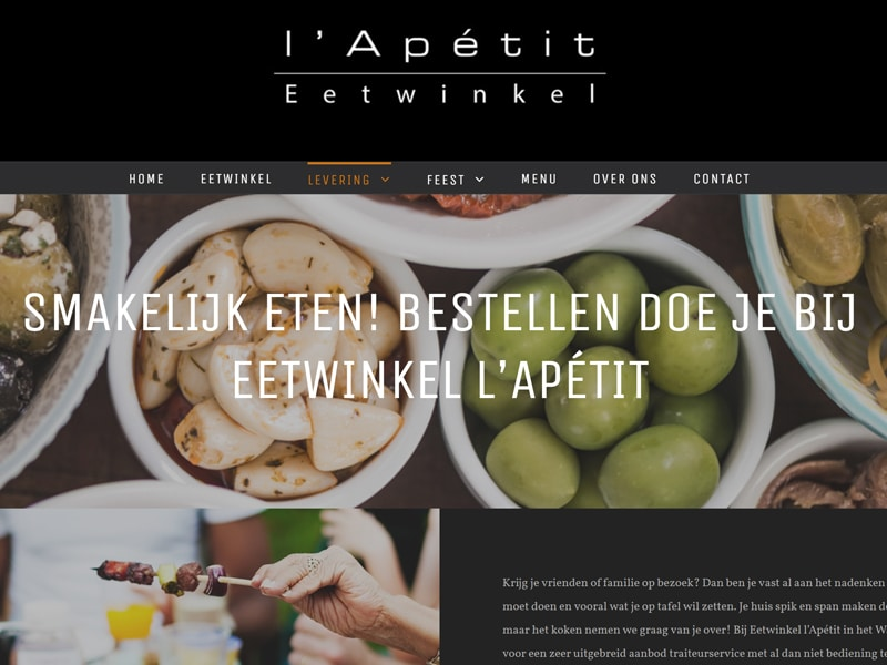 l'Apétit website